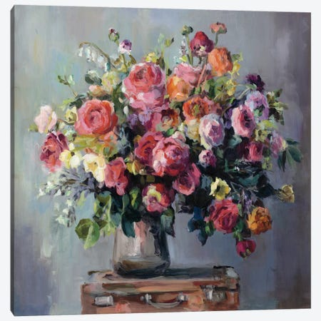 Abundant Bouquet Canvas Print #WAC4356} by Marilyn Hageman Canvas Wall Art