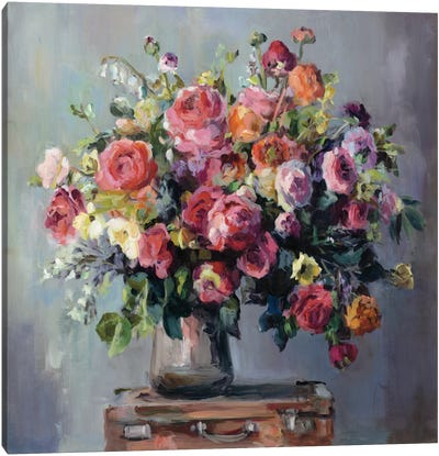 Abundant Bouquet Canvas Art Print