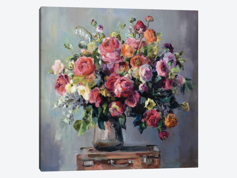 Abundant Bouquet by Marilyn Hageman 1-piece Canvas Art Print