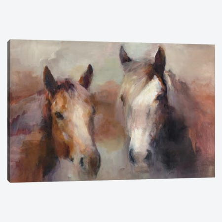 Blazing The West Canvas Print #WAC4357} by Marilyn Hageman Canvas Wall Art
