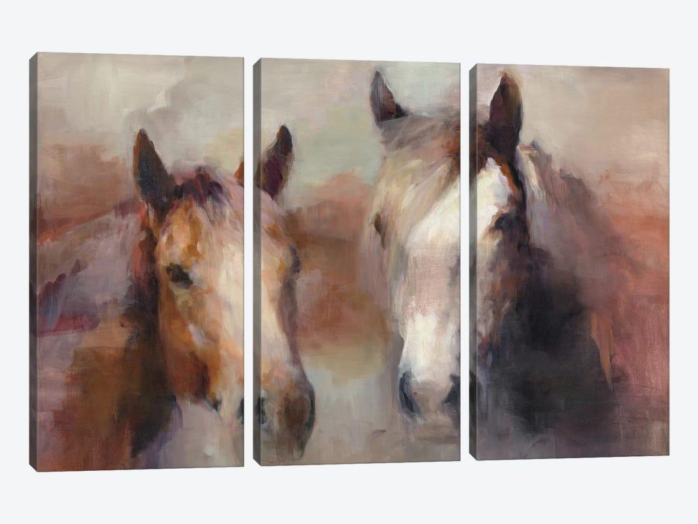 Blazing The West by Marilyn Hageman 3-piece Canvas Artwork