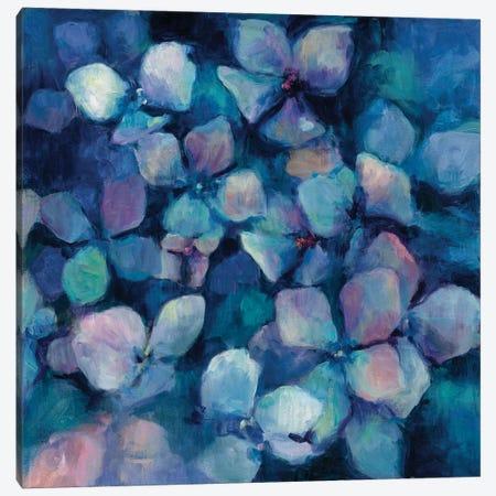 Midnight Blue Hydrangeas Canvas Print #WAC4362} by Marilyn Hageman Canvas Wall Art