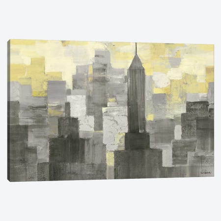 City Blocks Canvas Print #WAC4365} by Albena Hristova Canvas Art Print