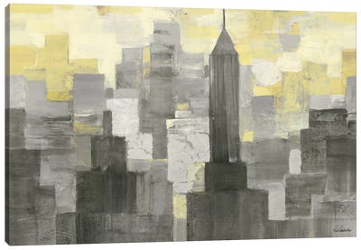 City Blocks Canvas Art Print