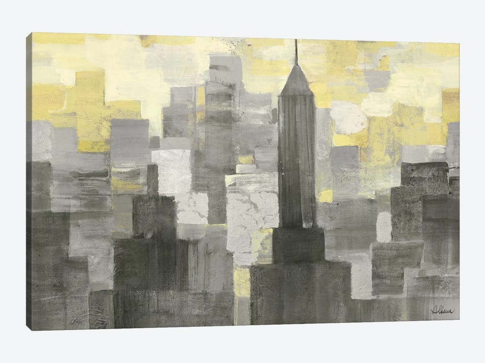 City Blocks by Albena Hristova 1-piece Art Print