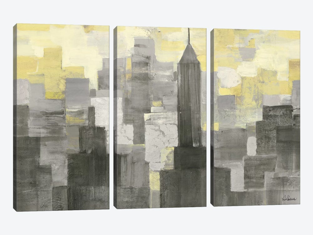 City Blocks by Albena Hristova 3-piece Art Print