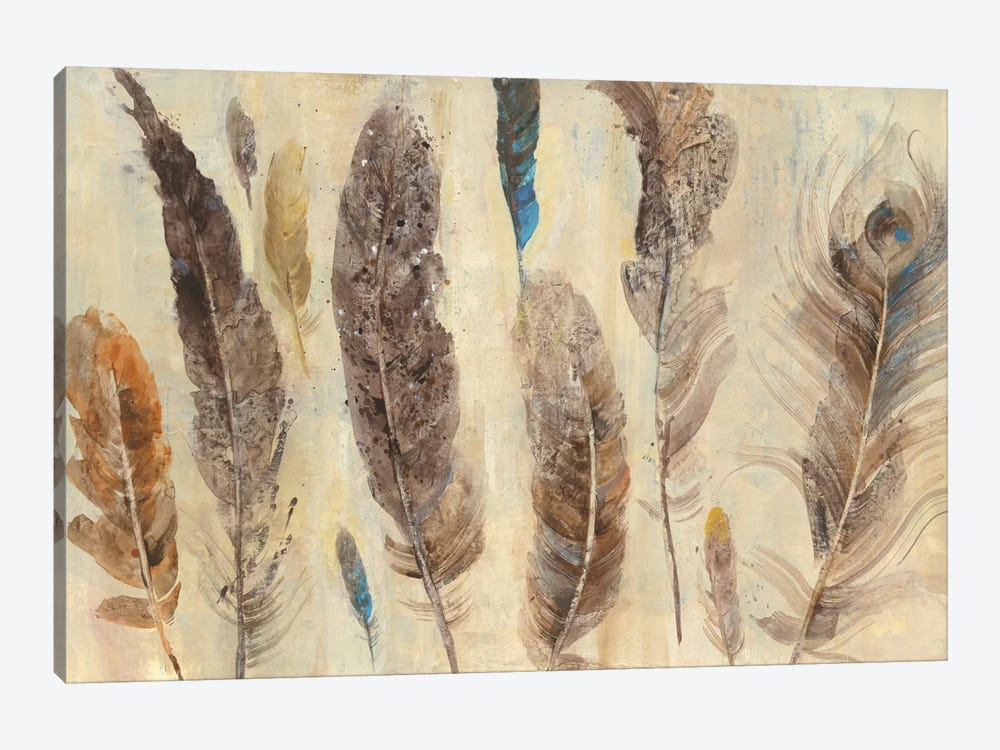 Feather Study by Albena Hristova 1-piece Art Print