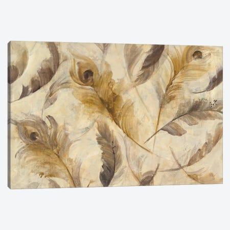 Feather Toss Canvas Print #WAC4370} by Albena Hristova Canvas Print