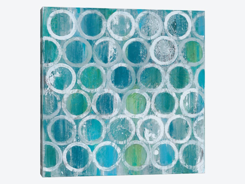 Stack Of Tubes by Albena Hristova 1-piece Canvas Wall Art