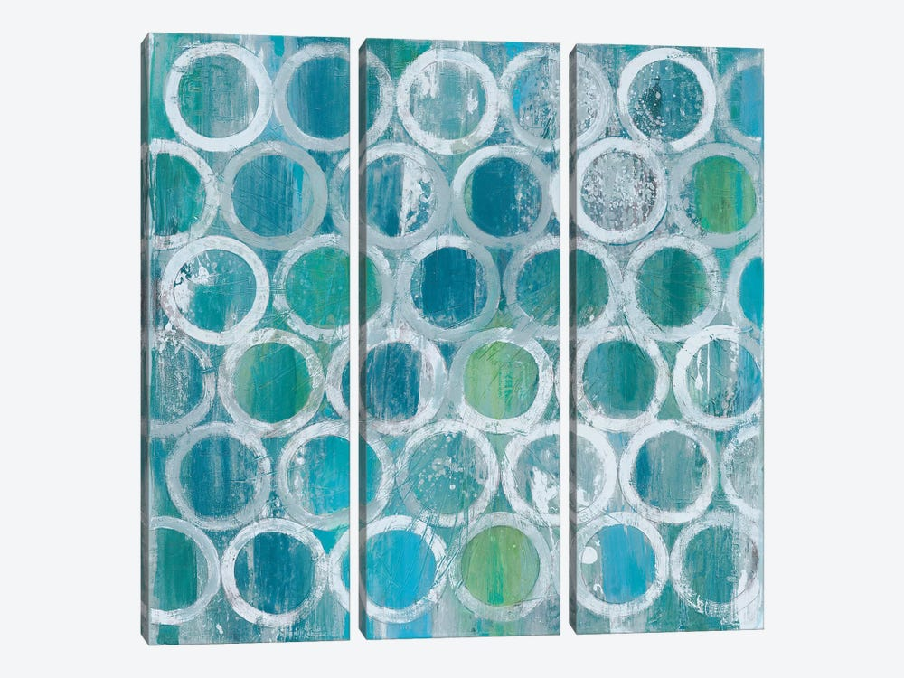 Stack Of Tubes by Albena Hristova 3-piece Canvas Art