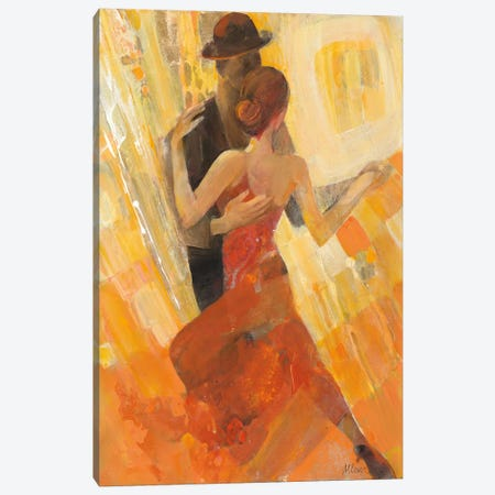 Tango Canvas Print #WAC4387} by Albena Hristova Canvas Print
