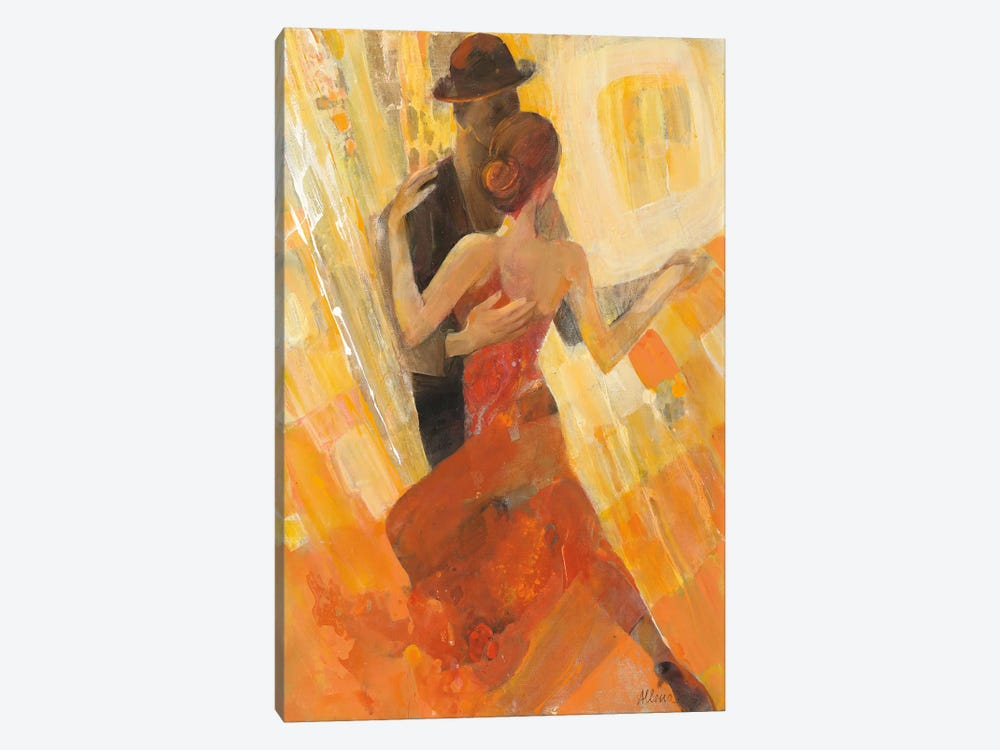 Tango by Albena Hristova 1-piece Canvas Art Print