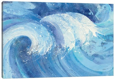 The Big Wave Canvas Art Print