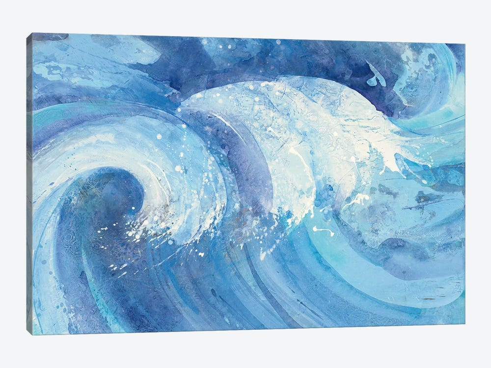 The Big Wave by Albena Hristova 1-piece Canvas Artwork