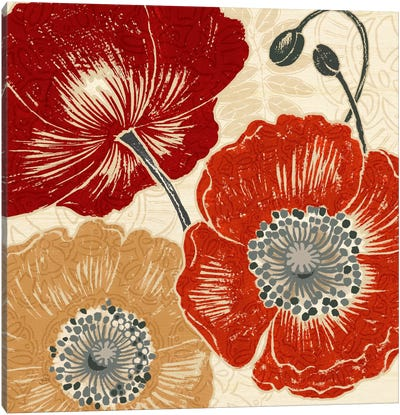 A Poppys Touch II  Canvas Print #WAC438