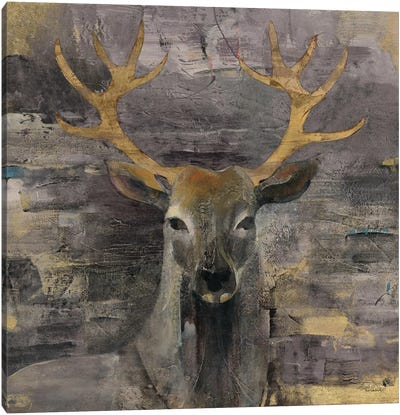 The Leader Canvas Art Print
