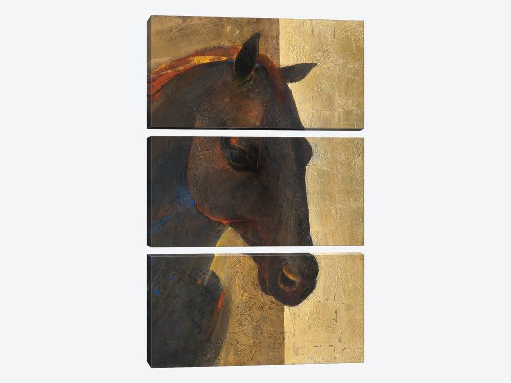 Trojan Horse I by Albena Hristova 3-piece Canvas Artwork