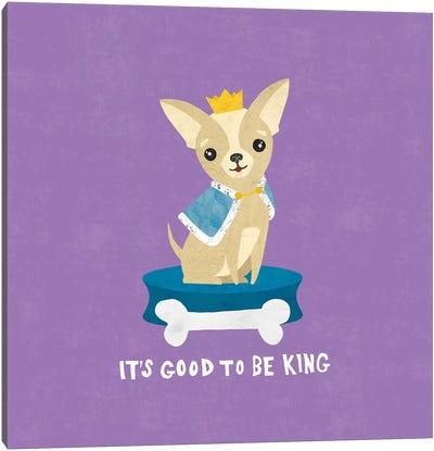 Good Dogs Series: Chihuahua Canvas Print #WAC4396