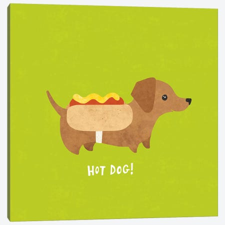 Dachshund Canvas Print #WAC4398} by Moira Hershey Canvas Print
