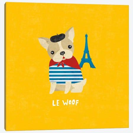 French Bulldog Canvas Print #WAC4399} by Moira Hershey Art Print