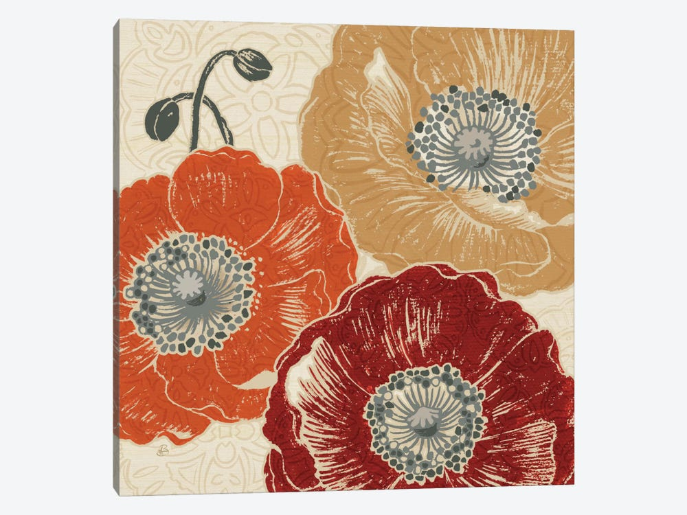 A Poppys Touch III  by Daphne Brissonnet 1-piece Canvas Art Print