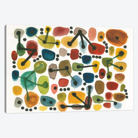 Mid Century I Canvas Print #WAC4405} by Cheryl Warrick Canvas Art