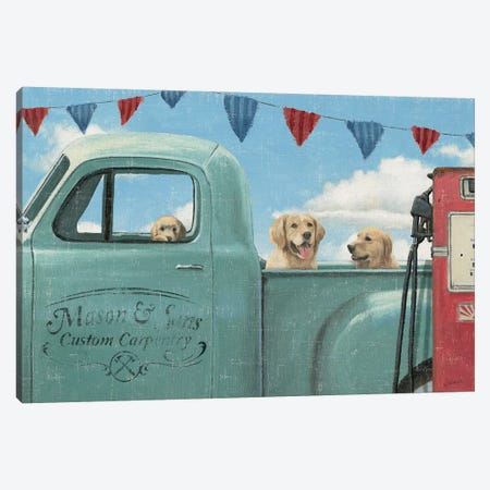 Let's Go For A Ride II Canvas Print #WAC4431} by James Wiens Canvas Wall Art