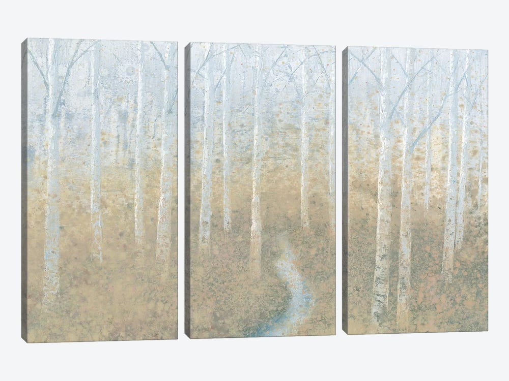 Silver Waters by James Wiens 3-piece Canvas Print