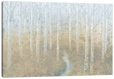 Silver Waters Canvas Art Print
