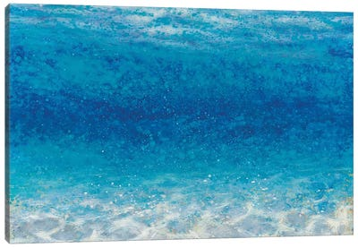 Underwater I Crop Canvas Art Print