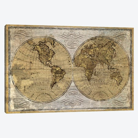 Worldwide I Canvas Print #WAC4442} by James Wiens Canvas Art Print