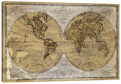 Worldwide I Canvas Art Print