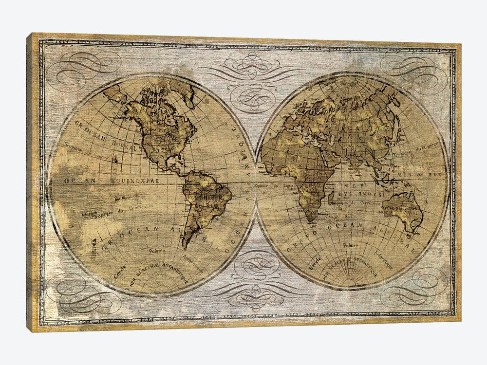 Worldwide I by James Wiens 1-piece Art Print