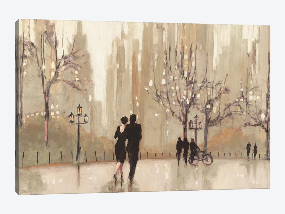 An Evening Out I by Julia Purinton 1-piece Canvas Wall Art