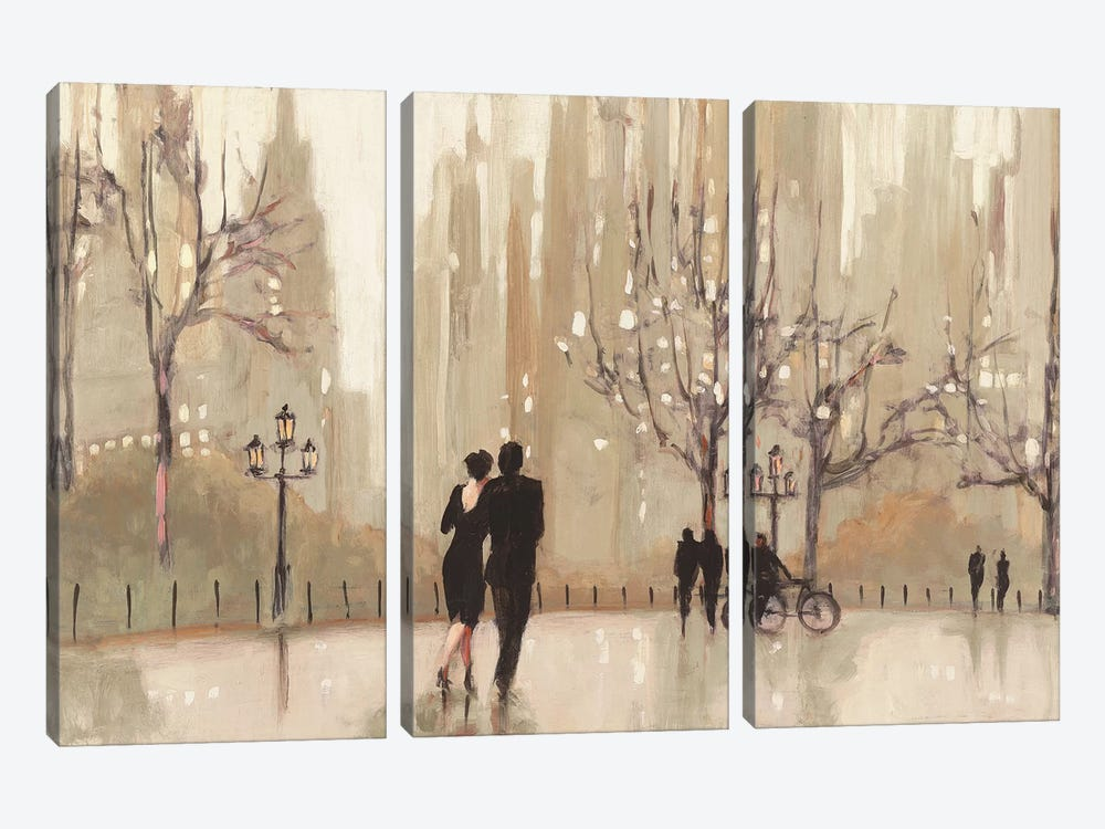 An Evening Out I by Julia Purinton 3-piece Canvas Artwork