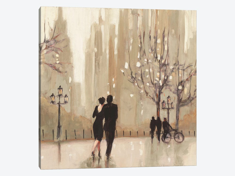 An Evening Out II by Julia Purinton 1-piece Canvas Art Print