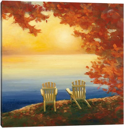 Autumn Glow II Canvas Art Print
