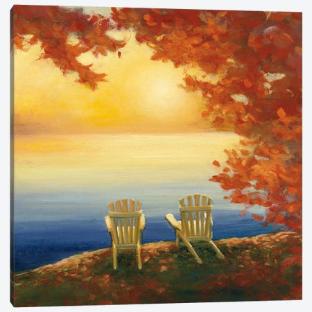 Autumn Glow II Canvas Print #WAC4445} by Julia Purinton Canvas Artwork