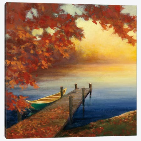 Autumn Glow III Canvas Print #WAC4446} by Julia Purinton Canvas Wall Art