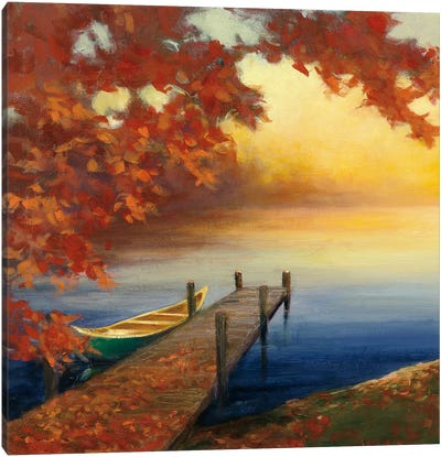 Autumn Glow III Canvas Art Print