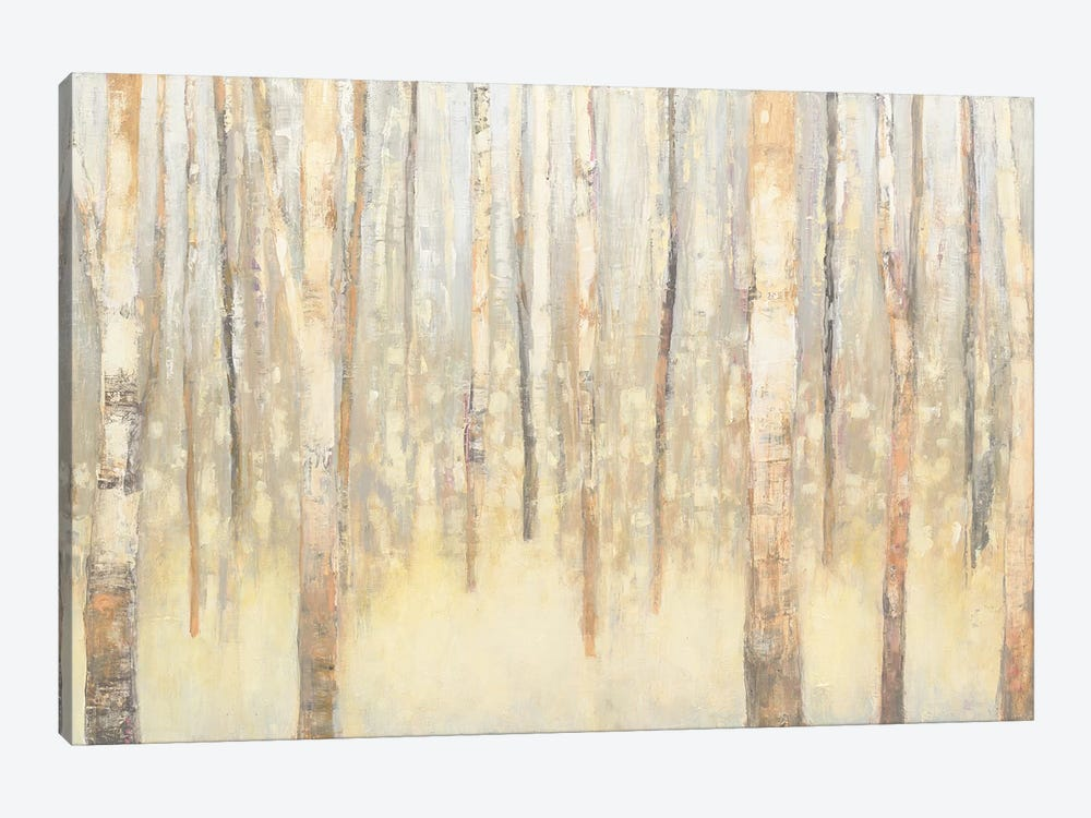 Birches In Winter I 1-piece Canvas Art