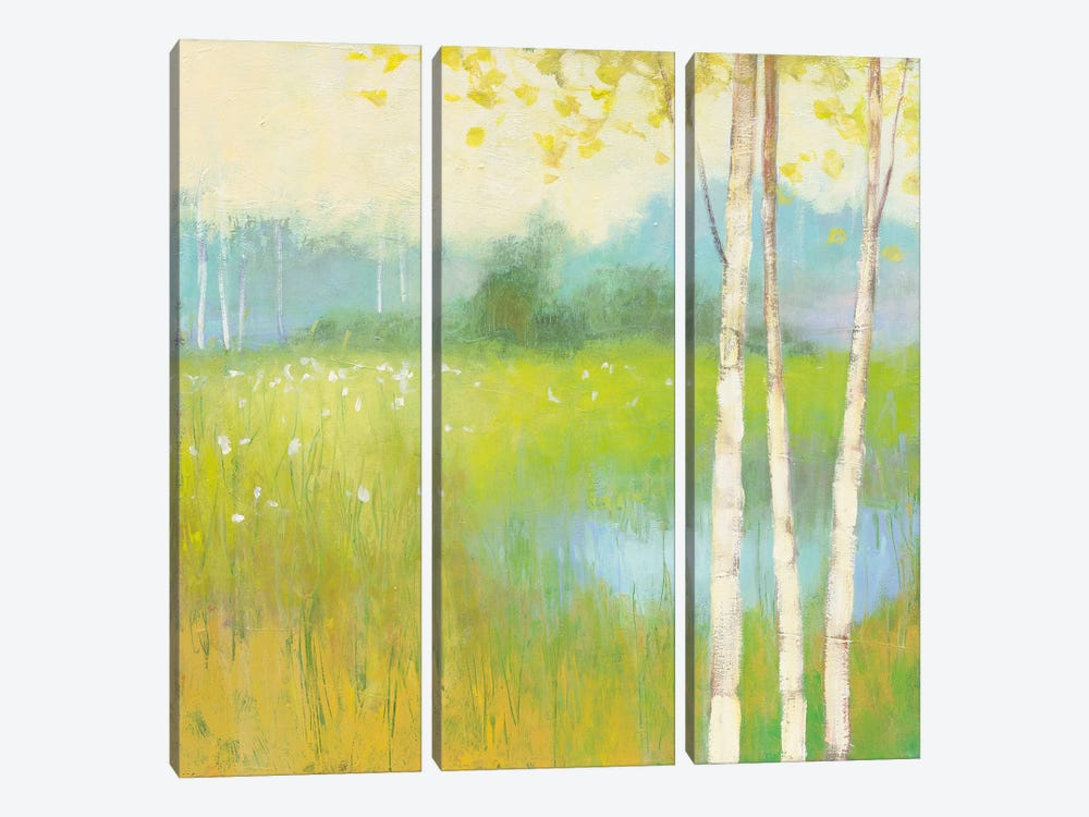 Spring Fling II 3-piece Canvas Art Print