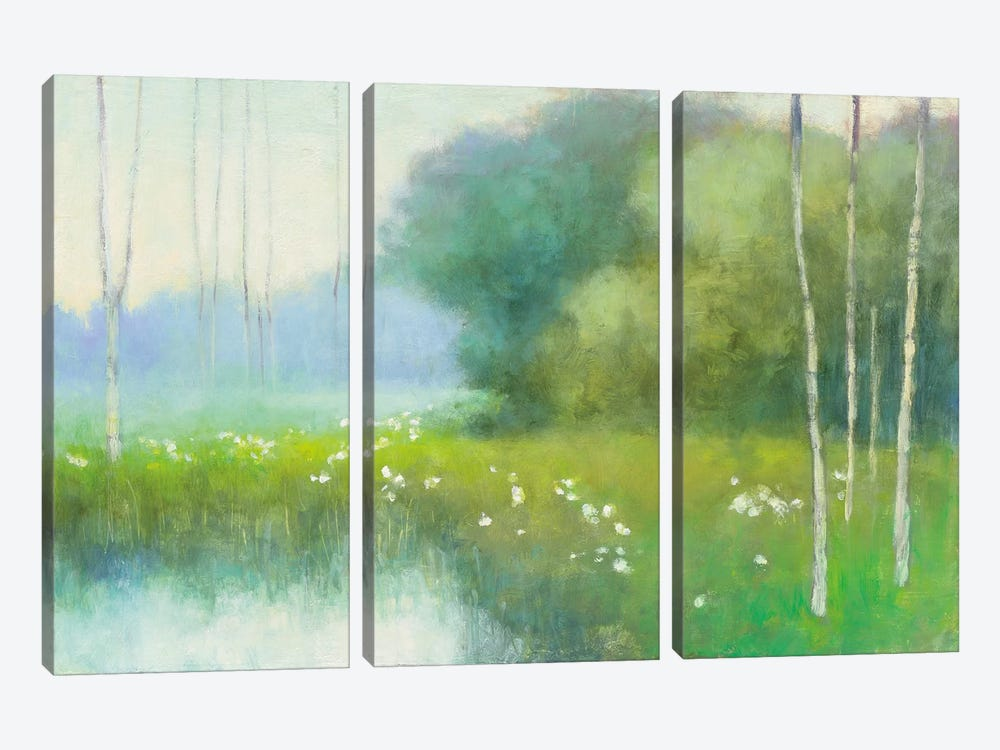 Spring Midst by Julia Purinton 3-piece Canvas Art
