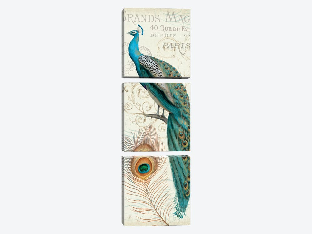Majestic Beauty II P by Daphne Brissonnet 3-piece Canvas Wall Art