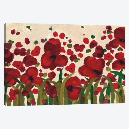 Ascending Flowers Canvas Print #WAC4476} by Wild Apple Portfolio Canvas Art Print