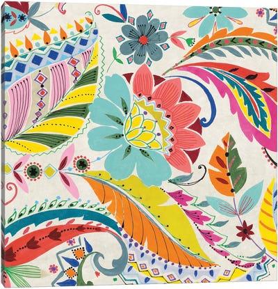 Boho Paisley I Canvas Print #WAC4480