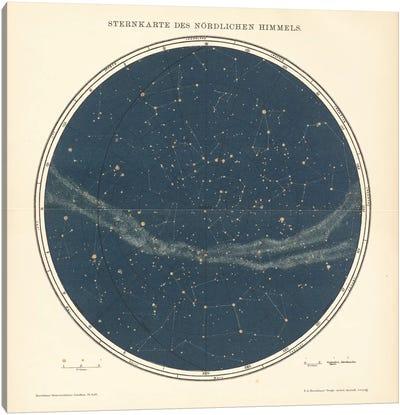 Celestial Sphere North Canvas Art Print