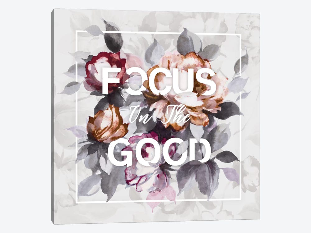 Focus On The Good by Wild Apple Portfolio 1-piece Canvas Wall Art