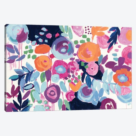 Garden Riot Canvas Print #WAC4502} by Wild Apple Portfolio Canvas Artwork