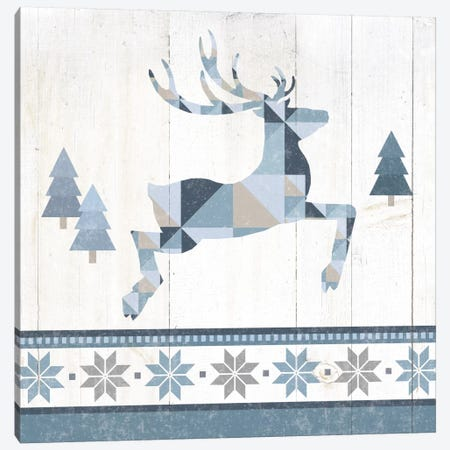 Nordic Geo Lodge Deer III Canvas Print #WAC4518} by Wild Apple Portfolio Art Print